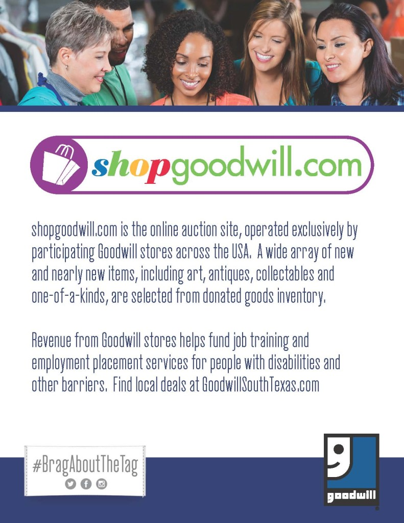 Shop Goodwill Industries Of South Texas