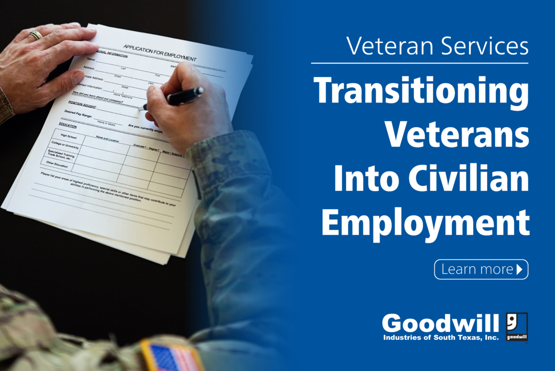 Image - Goodwill Veteran Service transitioning Veterans into Civilian Employment