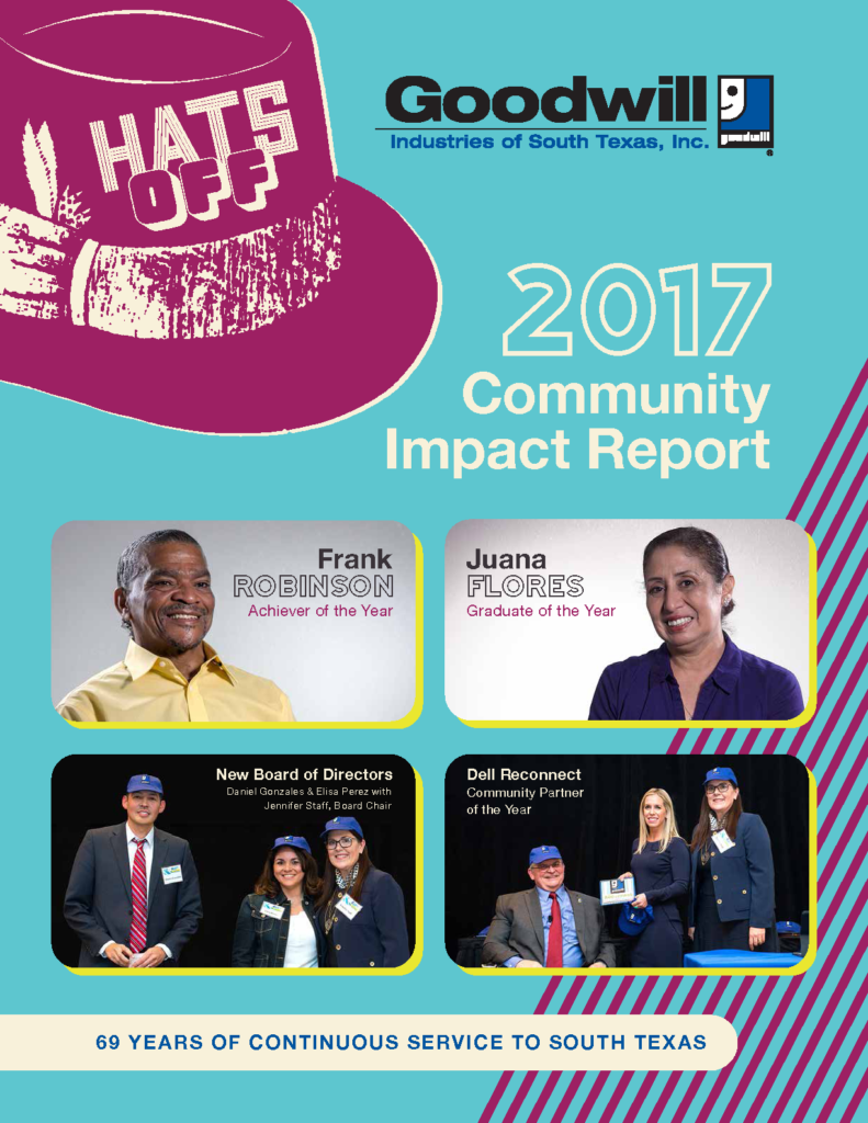 2017 Goodwill South Texas Community Impact Report