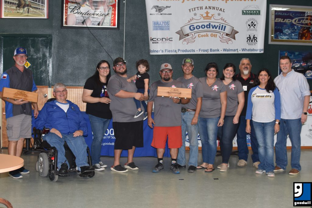 Goodwill South Texas Cook-off Winners