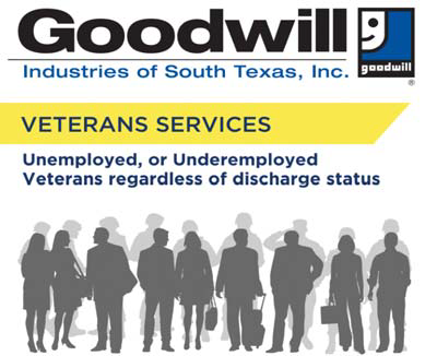 Veterans Services for Goodwill South Texas