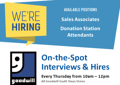 On-the-Spot Interviews & Hires